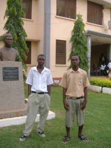 Victor en Richard @ Senior Secondary School